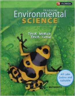 Pearson environmental science textbook